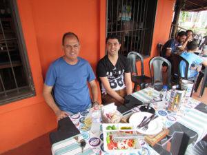 Edson Machado e o filho Anderson