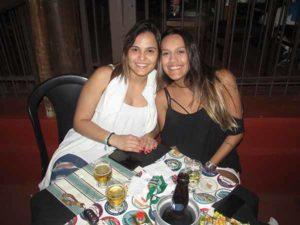 ThaÍs Vedovato e Marina Candra