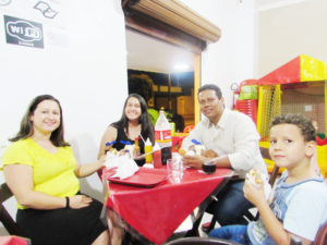 Adriana Dias, Isabela Dias,  Joabi Dias e Luiz Felipe Dias<br>