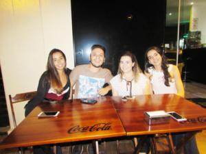 Gabrielly Veríssimo, Leonardo Torres,  Sthefanie Ângelo e Janaina Oliveira<br>