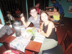 Gabriel de Oliveira  e Maysa Alves<br>