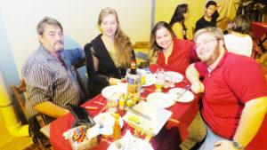 Iedo Matuella/Lourdes, Iedo Filho Matuella  e a namorada Ana Laura Machado<br>