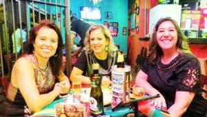 Fernanda Sandoval, Sandra Coelho e Andréia Nogueira<br>