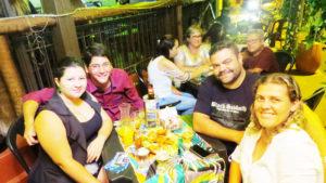 """Ricardo Resende (""""Brow"""")/Ana Paula, Luiz Gustavo Pimentel e Paula Gumiero<br>"""
