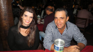 Cláudio Almeida e Viviane<br>