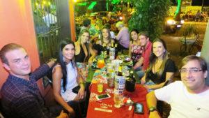 Frederico Bonato, Marina Bernadini, Caru Assis, Adriana Fernandes, Daniela Calimam, Alex Cruz, Érica Machado e Fernando Sorriso<br>