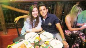 Lucas Sandoval Saad  e Gabriela Barbosa