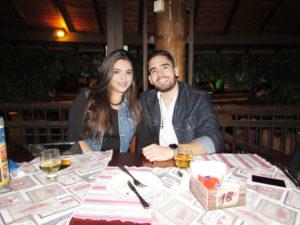 Rodrigo Jacob e Isabella Marchiori