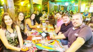 André Andreoli/Aline Cavalcante, Gilmar Machado/Cláudia Campos, Rodrigo Aragon/Cassandra Aragon <br>