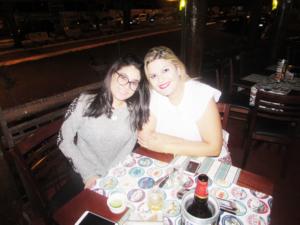 Ingrid Bezan e Ana Giula Alvez<br>