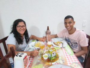 Lucas Rodrigues e  Ana Clara Borges<br>