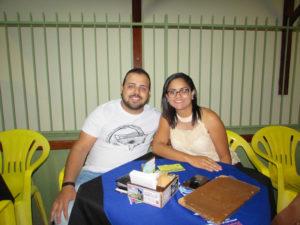Pedro Ramalho e Poliana Santos<br>