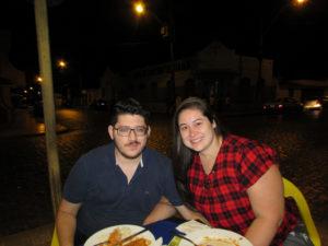Guilherme Rezende  e Gisele Inácio<br>