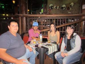 Victor Fernando, Lúcio Flávio Queiroz, Pietra França e Carol Ragozoni<br>