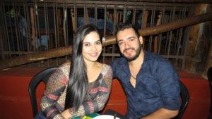 Ana Laura Ferreira e Gabriel Oliveira<br>