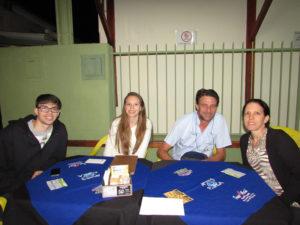 Ernani Honório/Renata,  Mateus Honório e Marília Honório