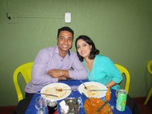 Matheus Godoy e Brenda Karolina