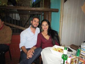 Bruno Coimbra e Viviane Bessa