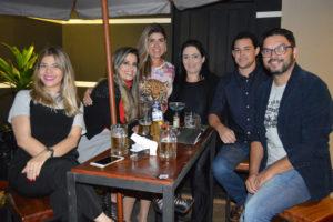 Mariana Mendes Junqueira, Naiana Seara Maciel, Bruna Fiuza e o noivo Jonas Moretti, Alberto Faria Pereira/Juliana Maciel