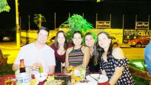 Ronaldo Almeida, Luciana Bernardes, Lídia Almeida, Mariana Santos e Daniela Wakayama<br>