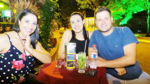 Rosângela Lino, Nathalia Helena e Fabrício Sandoval Terra<br>