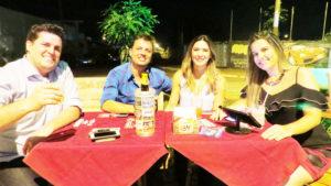 Antônio Augusto Castro Maciel/Naiana, Fausto Francisco e Manuela Fukuhara<br>