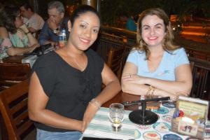 Edilaine Lima e Célia Sandoval