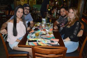 Esteban Irigo e a namorada Gabriela Félix, Danilo Martins/Raquel