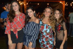 Vitória Andrade, Bruna Dessotte, Ilka Macedo e Yasmin Chaebub