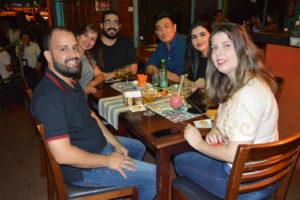 Ivan Garcia/Fernanda, Márcio Moisés/Carla e Vitor Mine/Karen