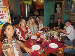 Lucíola Barcelos Menezes Oliveira, Andressa Suely Rodrigues Rubira, Lenita Rodrigues, Júlia, Thiago e Luiz Felipe