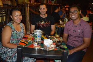 Milene Oliveira, Danilo  de Souza e Edson Silva