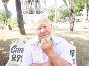 """""""Nunca votei nulo ou em branco, sempre procurei conhecer os candidatos para presidência. Em minha opinião, o melhor jeito de mudar o país é quando a mudança partir de nós eleitores, votando com consciência"""".  Joaquim Silvério, 65 anos, aposentado"""
