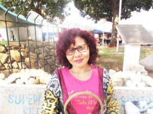 """""""Sinceramente, é preferível não comparecer às urnas esse ano, pois não vejo esperanças e creio que o voto branco não irá ajudar em nada, por isso, opto pela justificativa, do que pelo desperdício do voto""""  Luciene Jacinto dos Santos, 49 anos, doméstica"""