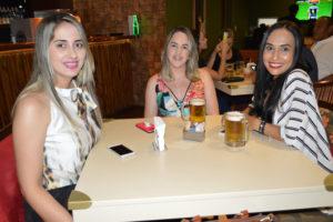 Larissa Garcia, Danielle Pugliane e Cássia Ireno