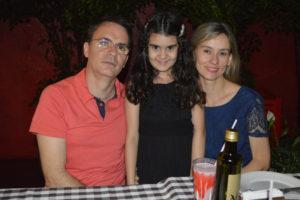Marcelo Liporaci Spósito Machado/Patrícia e a filha Luísa