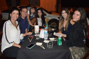 Fernando Bernardini Filho/Renata, as filhas Maria Clara e Maria Fernanda Bernardini, a irmã Marina Bernardini e a sobrinha Eduarda Bernardini