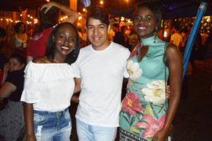 Ludmilla Cristina Silva de Almeida, Thallyson Gonçalves e Luciana Martins