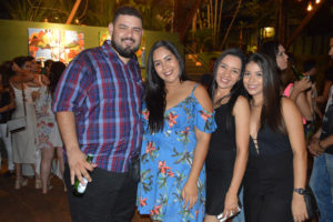 Ricardo Carvalho, Gabrielle Paiva, Roberta Costa e Letícia Silva