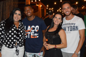 Guilherme Almeida e a amorada Maria Júlia Leite, Bruni Mordari e a namorada Iara Ribeiro