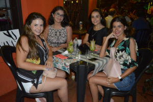 Vitória Magnum, Thais Lopes, Lusa Athayde e Ana Luiza Cortes