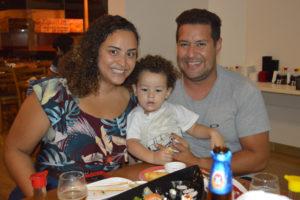 Danilo Bernardes/Dayane e o filho André