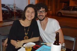 Bruno Rafael e a namorada Natália Sampaio