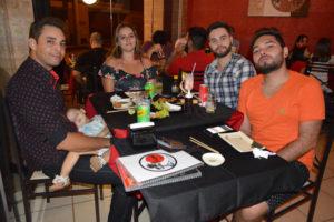 Stenio Roberto da Silva/Thaís Fernanda, Matheus Queiroz e Thiago Silva