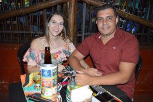 Ricardo Loyses e Gabriele Alves