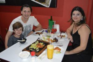 Luís Gustavo Campos/Vanessa e o filho Caio Ferreira Campos