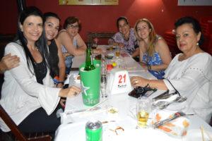 Renata Bernardini, Rogéria Rodrigues, Adriana Trigo,  Renata Rodrigues, Raquel Chaebub e Rita Barbosa