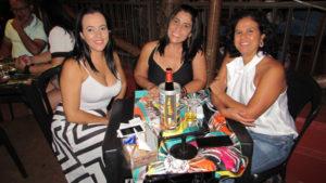 Kelli Maria, Selma Oliveira e Waléria Souza