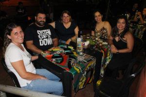 Ricardo Brow/Ana Paula Vieira, Mariana Gomes, Cynthia Ribeiro e Amanda Azevedo