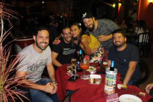 Cássio Oliveira, Antônio Moisés, Carol Colombino, Lúcio Lima Jr e Bruno Gibaile